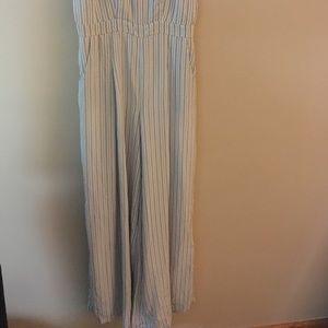 dec69635d909 Lord   Taylor Pants - White Jumpsuit with stripes